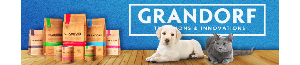 Корм Грандорф для собак и кошек