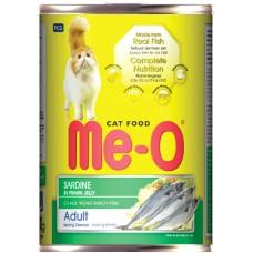 Консервы Me-O для кошек сардины в желе