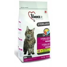 "Корм 1st Choice для стерилизованных кошек ""Sterilized"""