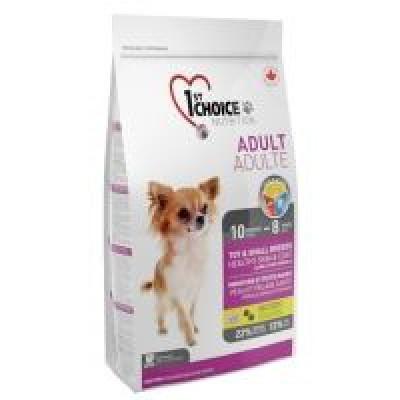 Корм 1st choice гипоаллергенный для декоративных собак с ягненком и рыбой