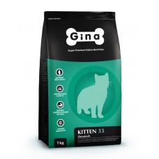 """Корм Gina для кошек """"Kitten 33"""""""