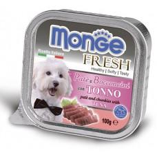 Корм Monge Fresh для собак паштет с тунцом
