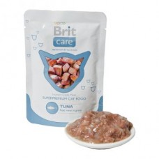 "Brit Care корм для кошек Тунец"" (пауч)"