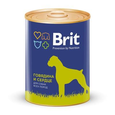 """Brit корм для собак """"Говядина и сердце"""""""