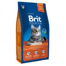 "Корм Brit Premium для домашних кошек ""Indoor"" с курицей"