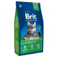 Корм Brit Premium для кастрированных/стерилизованных котов и кошек