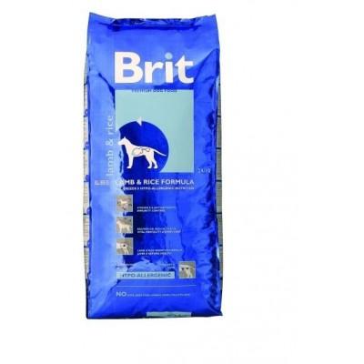 Корм Brit Premium гипоаллергенный для собак с ягненком и рисом