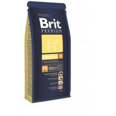 Корм Brit Premium для щенков средних пород: 2-12мес. (Junior M)