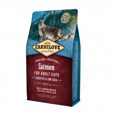 Корм CarniLove для кошек с лососем