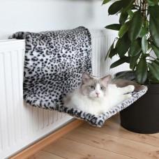 Гамак для кошек на радиатор снежный барс