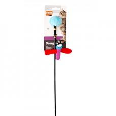 Karlie-Flamingo игрушка дразнилка для кошек с насекомым