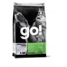 Корм GO! Natural Holistic для котят и кошек с чувствительным пищеварением: форель, лосось