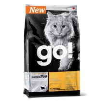 Корм GO! Natural Holistic для котят и кошек с чувствительным пищеварением: свежая утка