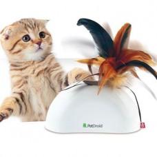 Gigwi интерактивная игрушка для кошек Фезер Хайдер со звуковым чипом