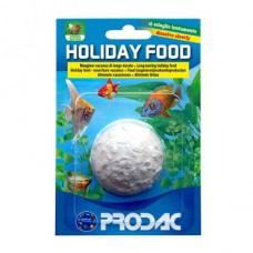 Prodac Holiday food концентрированный корм для рыб во время долгого отсутствия