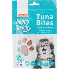 Beaphar лакомство для котят мягкие чипсы из тунца