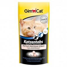 Gimpet лакомство с рыбой и маскарпоне для кошек