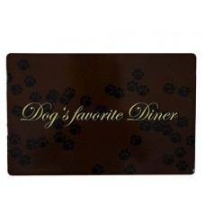 """Коврик под миску """"Dog's favourite Diner"""""""