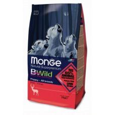 Корм Monge BWild Dog Deer для щенков с олениной