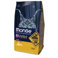 Корм Monge Bwild для кошек с мясом зайца