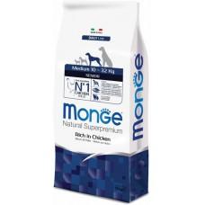 Корм Monge Dog Medium для пожилых собак средних пород