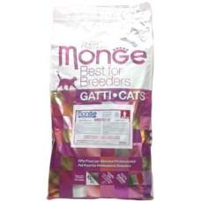 Корм Monge для кошек с чувствительным пищеварением