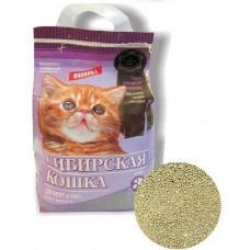 Наполнитель комкующийся для котят Сибирская кошка, Супер