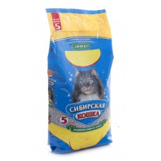 Наполнитель впитывающий Сибирская кошка, Эффект