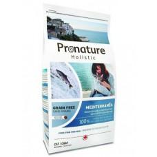"""Корм Pronature Holistic GF для кошек """"Средиземноморское меню"""""""