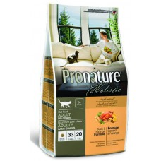 Корм Pronature Holistic для кошек с уткой и апельсином