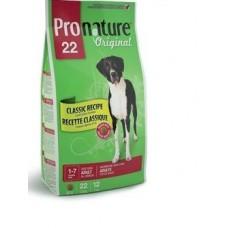 Корм Pronature 22 для собак с ягненком и рисом