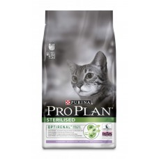 Корм Pro Plan для стерилизованных кошек с индейкой и курицей