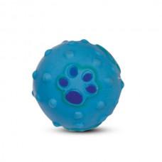 """Игрушка для собак из винила """"Мяч с лапкой"""", 6 см"""