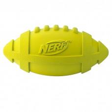 """Игрушка для собак """"Мяч для регби"""" пищащий Nerf 17,5 см"""