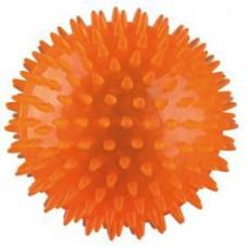 Игрушка для собак мяч игольчатый резиновый, 12 см