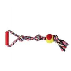 """Игрушка для собак """"Веревка с мячом"""" 50 см"""