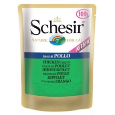 "Schesir корм для котят ""Филе цыпленка"" (пауч)"
