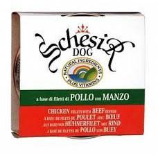 """Schesir корм для собак """"Цыпленок с говядиной"""""""