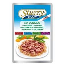 Stuzzy Cat корм для кошек с кроликом в желе