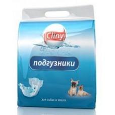 Cliny Подгузники для собак 5-10 кг М (9шт)
