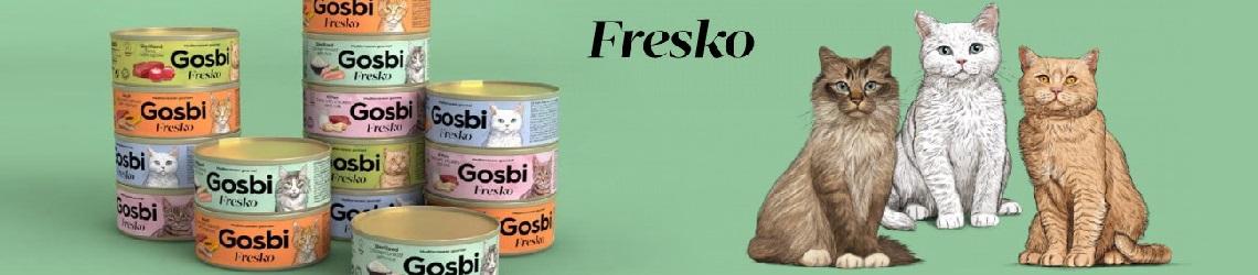 Консервы для кошек Gosbi
