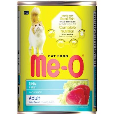 Консервы Me-O для кошек тунец в желе