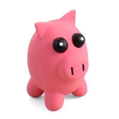 """Игрушка для собак из латекса""""Свинка""""100мм"""