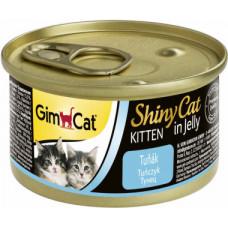 Консервы Gimpet ShinyCat для котят из тунца.