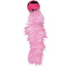 """Игрушка для кошек """"Дикий хвост"""" 18 см с хвостом из перьев KONG."""