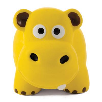 """Игрушка для собак из латекса """"Крошка-бегемот"""", 80мм"""