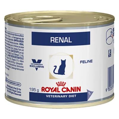Royal Canin Renal при проблемах с почками, мясное ассорти 195 г