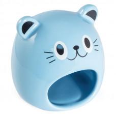 """Домик для мелких животных керамический """"Мышка""""."""