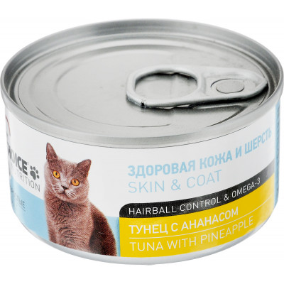 Корм 1st choice для кошек с тунцом и ананасом