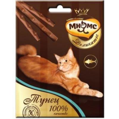 Мнямс лакомство для кошек палочки 9см с тунцом 3*4г.